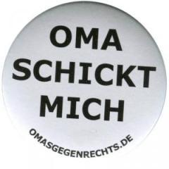 """Zum 37mm Magnet-Button """"Oma schickt mich"""" für 2,44 € gehen."""