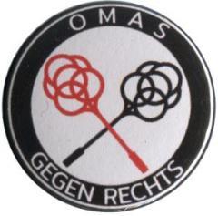 """Zum 37mm Magnet-Button """"Omas gegen Rechts (Teppichklopfer)"""" für 2,50 € gehen."""