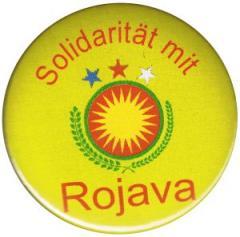 """Zum 37mm Magnet-Button """"Solidarität mit Rojava"""" für 2,50 € gehen."""