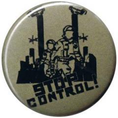 """Zum 37mm Magnet-Button """"Stop Control"""" für 2,50 € gehen."""