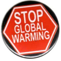 """Zum 37mm Magnet-Button """"Stop Global Warming"""" für 2,50 € gehen."""