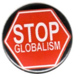 """Zum 37mm Magnet-Button """"Stop Globalism"""" für 2,50 € gehen."""