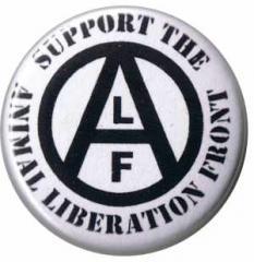 """Zum 37mm Magnet-Button """"support the Animal Liberation Front"""" für 2,50 € gehen."""