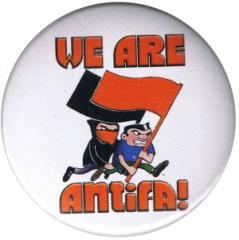 """Zum 37mm Magnet-Button """"We are antifa!"""" für 2,44 € gehen."""