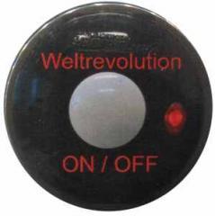 """Zum 37mm Magnet-Button """"Weltrevolution"""" für 2,44 € gehen."""