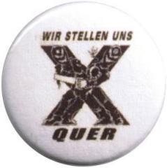 """Zum 37mm Magnet-Button """"Wir stellen uns quer"""" für 2,44 € gehen."""