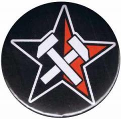 """Zum 37mm Magnet-Button """"Working Class Stern"""" für 2,50 € gehen."""