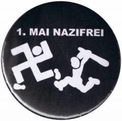 """Zum 50mm Magnet-Button """"1. Mai Nazifrei"""" für 3,00 € gehen."""