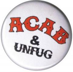 """Zum 50mm Magnet-Button """"ACAB und Unfug"""" für 3,00 € gehen."""