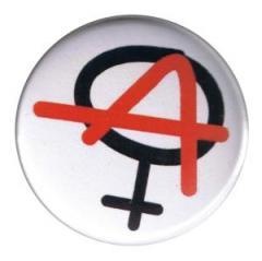 """Zum 50mm Magnet-Button """"Anarchie ist weiblich"""" für 3,00 € gehen."""