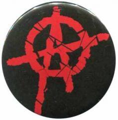 """Zum 50mm Magnet-Button """"Anarchie (rot) 2"""" für 3,00 € gehen."""