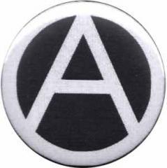 """Zum 50mm Magnet-Button """"Anarchie (schwarz)"""" für 2,92 € gehen."""