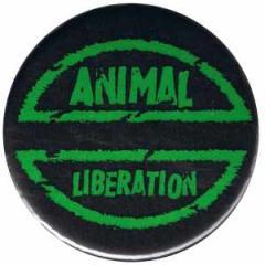 """Zum 50mm Magnet-Button """"Animal Liberation"""" für 2,92 € gehen."""