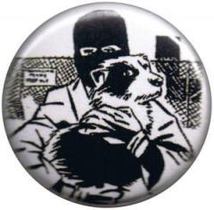 """Zum 50mm Magnet-Button """"Animal Liberation (Hund)"""" für 2,92 € gehen."""