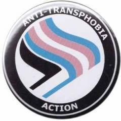 """Zum 50mm Magnet-Button """"Anti-Transphobia Action"""" für 2,92 € gehen."""
