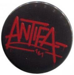 """Zum 50mm Magnet-Button """"Antifa 161"""" für 3,00 € gehen."""