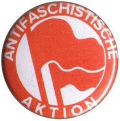 """Zum 50mm Magnet-Button """"Antifaschistische Aktion (1932, rot/rot)"""" für 3,00 € gehen."""