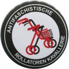 """Zum 50mm Magnet-Button """"Antifaschistische Rollatoren Kavallerie"""" für 3,00 € gehen."""