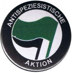 """Zum 50mm Magnet-Button """"Antispeziesistische Aktion (grün/schwarz)"""" für 3,00 € gehen."""