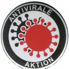 """Zum 50mm Magnet-Button """"Antivirale Aktion"""" für 2,92 € gehen."""