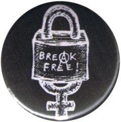 """Zum 50mm Magnet-Button """"Break Free"""" für 3,00 € gehen."""