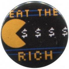 """Zum 50mm Magnet-Button """"Eat the rich"""" für 2,92 € gehen."""