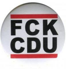 """Zum 50mm Magnet-Button """"FCK CDU"""" für 3,00 € gehen."""