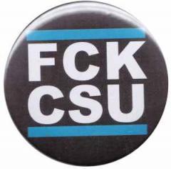 """Zum 50mm Magnet-Button """"FCK CSU"""" für 3,00 € gehen."""