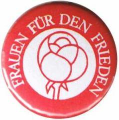 """Zum 50mm Magnet-Button """"Frauen für den Frieden"""" für 3,00 € gehen."""