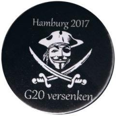 """Zum 50mm Magnet-Button """"G20 versenken"""" für 3,00 € gehen."""