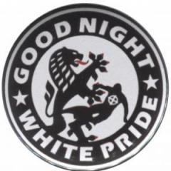 """Zum 50mm Magnet-Button """"Good night white pride (Dresden)"""" für 3,12 € gehen."""