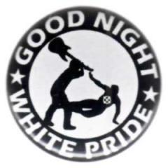 """Zum 50mm Magnet-Button """"Good night white pride - Gitarre"""" für 3,00 € gehen."""