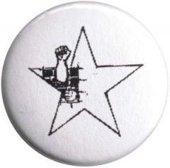 """Zum 50mm Magnet-Button """"Knaststern (weiß)"""" für 3,00 € gehen."""