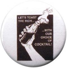 """Zum 50mm Magnet-Button """"Let´s toast the rich"""" für 3,00 € gehen."""