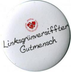 """Zum 50mm Magnet-Button """"Linksgrün versiffter Gutmensch (ZIVD)"""" für 3,20 € gehen."""