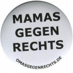 """Zum 50mm Magnet-Button """"Mamas gegen Rechts"""" für 2,92 € gehen."""