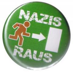 """Zum 50mm Magnet-Button """"Nazis raus"""" für 3,00 € gehen."""