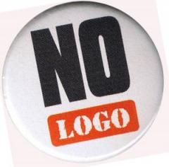 """Zum 50mm Magnet-Button """"No logo"""" für 3,00 € gehen."""