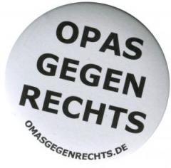 "Zum 50mm Magnet-Button ""Opas gegen Rechts"" für 3,00 € gehen."