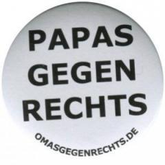 """Zum 50mm Magnet-Button """"Papas gegen Rechts"""" für 2,92 € gehen."""