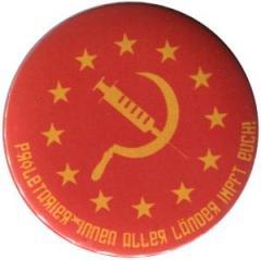 """Zum 50mm Magnet-Button """"Proletarier aller Länder impft Euch!"""" für 3,00 € gehen."""
