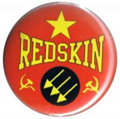 """Zum 50mm Magnet-Button """"Redskin"""" für 3,00 € gehen."""