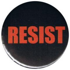 """Zum 50mm Magnet-Button """"RESIST"""" für 2,92 € gehen."""