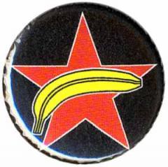 """Zum 50mm Magnet-Button """"Roter Stern + Banane"""" für 3,00 € gehen."""