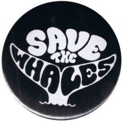 """Zum 50mm Magnet-Button """"Save the Whales"""" für 3,00 € gehen."""