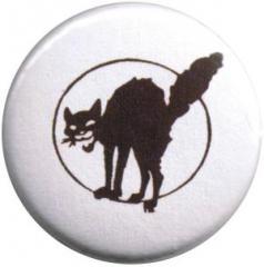 """Zum 50mm Magnet-Button """"Schwarze Katze"""" für 3,00 € gehen."""