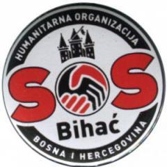 """Zum 50mm Magnet-Button """"SOS Bihac"""" für 3,12 € gehen."""