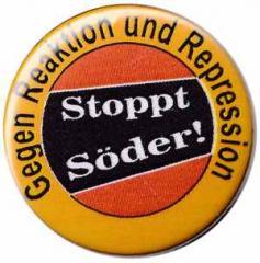 """Zum 50mm Magnet-Button """"Stoppt Söder!"""" für 3,00 € gehen."""