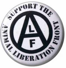"""Zum 50mm Magnet-Button """"support the Animal Liberation Front"""" für 2,92 € gehen."""