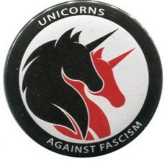 """Zum 50mm Magnet-Button """"Unicorns against fascism"""" für 3,00 € gehen."""